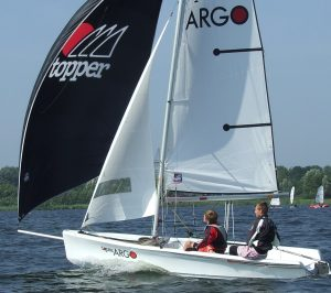 zeillessen in de ARGO zwaardboot